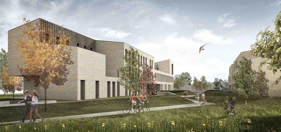 Progettazione di due edifici residenziali con relative for Progettazione di edifici residenziali